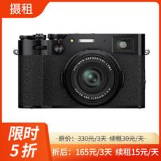富士X100V黑色版相机